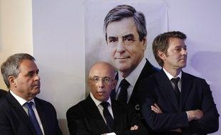 Xavier Bertrand, Eric Ciotti, et François Baroin.