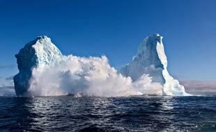 Un iceberg au large du Groenland (illustration).