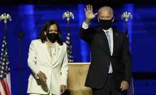 Joe Biden et Kamala Harris ont revendiqué la victoire à l'élection présidentielle le7 novembre 2020.