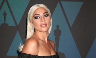 L'actrice et chanteuse Lady Gaga