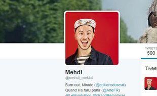 D'anciens tweets de Mehdi Meklat, publiés sous le pseudonyme de Marcelin Deschamps, ont créé la polémique