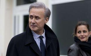 Le maire de Draveil, Georges Tron, le 29 mars 2015.