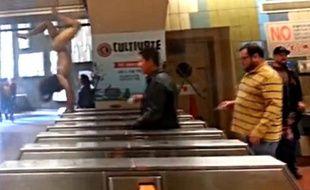 Yeiner Garizabalo a semé la panique dans le métro de San Francisco.