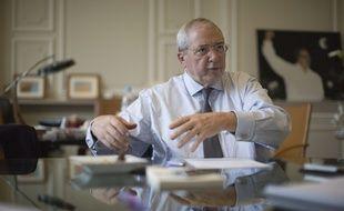 Jean-Paul Huchon, président de la région Île de France et président du Stif (Syndicat des transports d'Île-de-France).