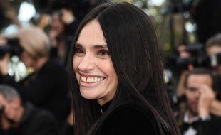 Béatrice Dalle au Festival de Cannes 2017.
