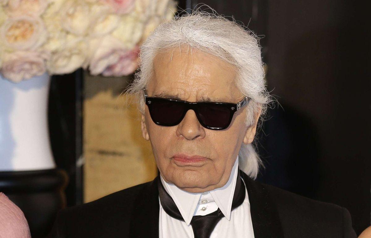 Karl Lagerfeld au Bal de la Rose à Monaco le 28 mars 2015. – Lionel Cironneau/AP/SIPA