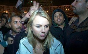 La journaliste de CBS, Lara Logan, le 11 février 2011, en Egypte.
