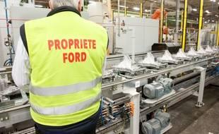 Blanquefort, 20 septembre 2012. - Visite de l'usine Ford spcialisée dans la production de boite de vitesse automatique. Photo : Sebastien Ortola