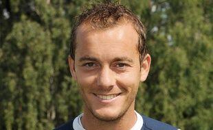 Hervé Bugnet, joueur d'Evian, le 28 juillet 2011.
