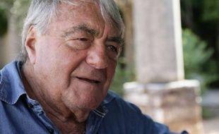 Le réalisateur Claude Lanzmann, le 18 août 2010, à Saint-Paul de Vence
