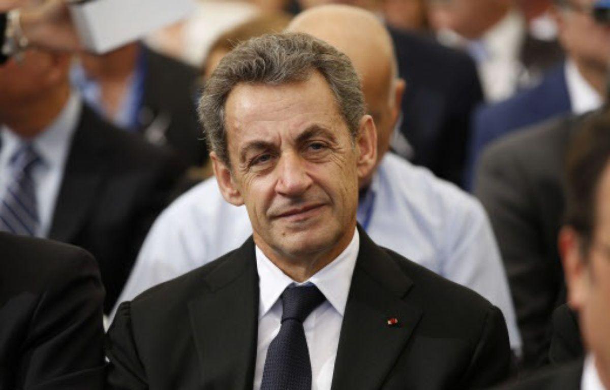 L'ex-chef de l'Etat Nicolas Sarkozy – Abir Sultan/AP/SIPA