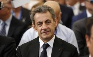 L'ex-chef de l'Etat Nicolas Sarkozy