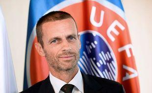 Aleksander Ceferin, récemment nommé à la tête de l'UEFA