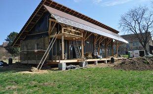 La maison de paille de l'atelier d'architecture Haha.
