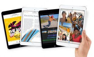 Apple a présenté son nouvel iPad mini, doté d'un écran Retina, et attendu courant novembre 2013.