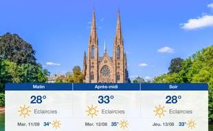 Météo Strasbourg: Prévisions du lundi 10 août 2020