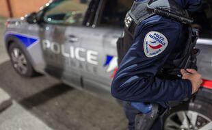 Un contrôle de police à Toulouse. Illustration.