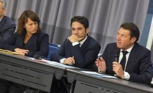 Christian Estrosi a organisé la première réunion publique de La France audacieuse mercredi à Nice.