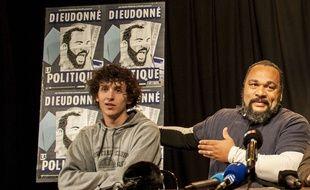 Dieudonné M'Bala M'Bala et son suppléant, le breton Nolan Lapie.