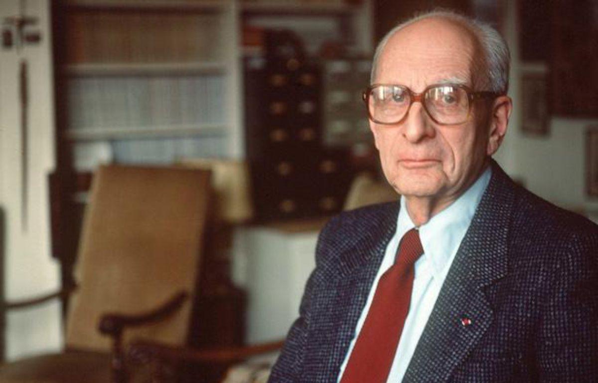 Claude Lévi-Strauss en 1998. – ANDERSEN/SIPA