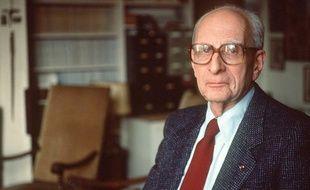 Claude Lévi-Strauss en 1998.