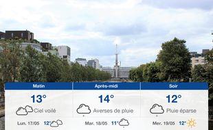 Météo Rennes: Prévisions du dimanche 16 mai 2021
