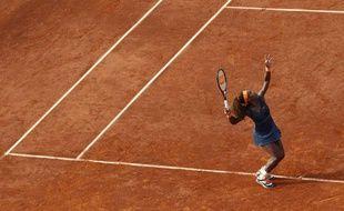 L'Américaine Serena Williams lors de sa demi-finale de Roland-Garros, le 6 juin2013.