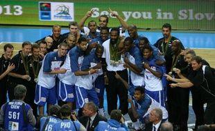 L'équipe de France messieurs de basket-ball a hérité dimanche d'un groupe nettement à sa portée lors du tirage au sort de l'Euro-2013 en Slovénie (4-22 septembre)
