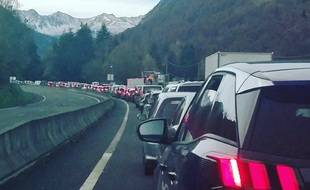 Sur la route d'Andorre, jeudi 29 octobre, veille du confinement.