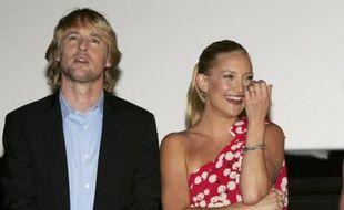 L'acteur américain Owen Wilson et son ex, la comédienne Kate Hudson