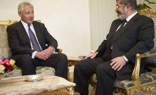 Le secrétaire américain à la Défense Chuck Hagel a pressé mercredi au Caire le pouvoir du président islamiste Mohamed Morsi à poursuivre sur la voie des réformes et à oeuvrer pour la stabilité régionale.