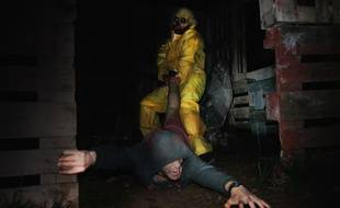 Heureusement qu'il ne s'agit que d'un acteur dans l'escape game en plein d'Aventure 06