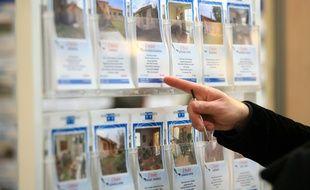 Image d'illustration d'une agence immobilière.