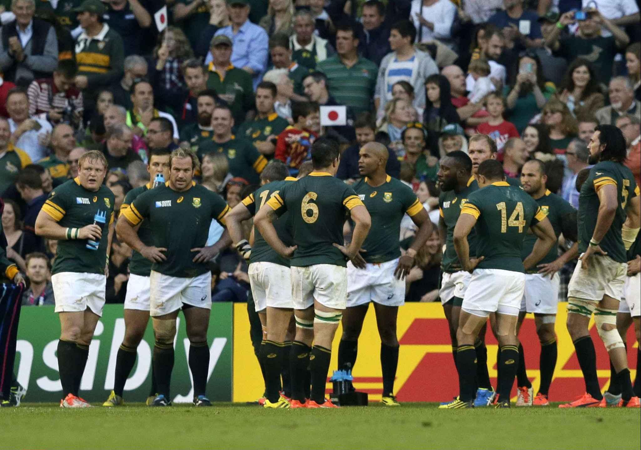 Le journal de la coupe du monde l 39 afrique du sud trouve la pire excuse du monde pour sa d faite - Poule de la coupe du monde de rugby 2015 ...
