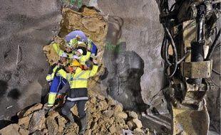 Les équipes de forage ont vu le jour hier au niveau de la station de Montrouge.
