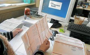 Caisse primaire d'assurance maladie du Bas-Rhin. (Illustration)