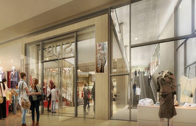 nantes la nouvelle galerie reli e au passage pommeraye ouvrira le 31 mars. Black Bedroom Furniture Sets. Home Design Ideas