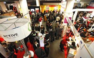 Le Salon des Entrepreneurs se tient à Paris les 1er et 2 février 2012.