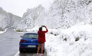 Des chutes de neiges sont tombées en plein mois de mai sur la Corse.