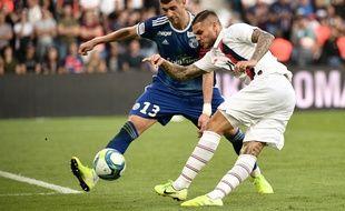 Mauro Icardi a montré de belles promesses pour sa première sous le maillot du PSG.