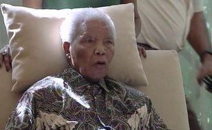 Nelson Mandela, dans l'extrait d'une vidéo, le 29 avril 2013.