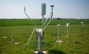 Avec ces capteurs, l'Inra veut déterminer de quelle manière les modes de production agricole affectent l'environnement