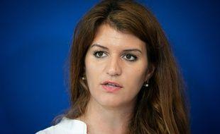 Marlène Schiappa, Secrétaire d'Etat chargée de l'Egalité entre les femmes et les hommes, le 5 octobre 2018 à Paris.