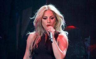 Lady Gaga en concert à Coachella en avril 2017