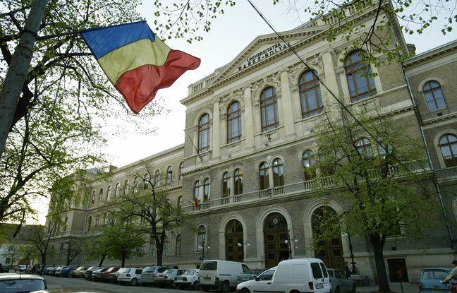 L'université de Cluj, en Roumanie, en 2004.