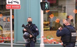 Une attaque au couteau a tué trois personnes à Nice, ce 29 octobre 2020.