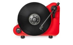 La platine vinyle verticale Pro-Ject.