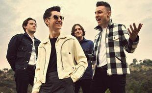 Le groupe de rock britannique Arctic Monkeys.