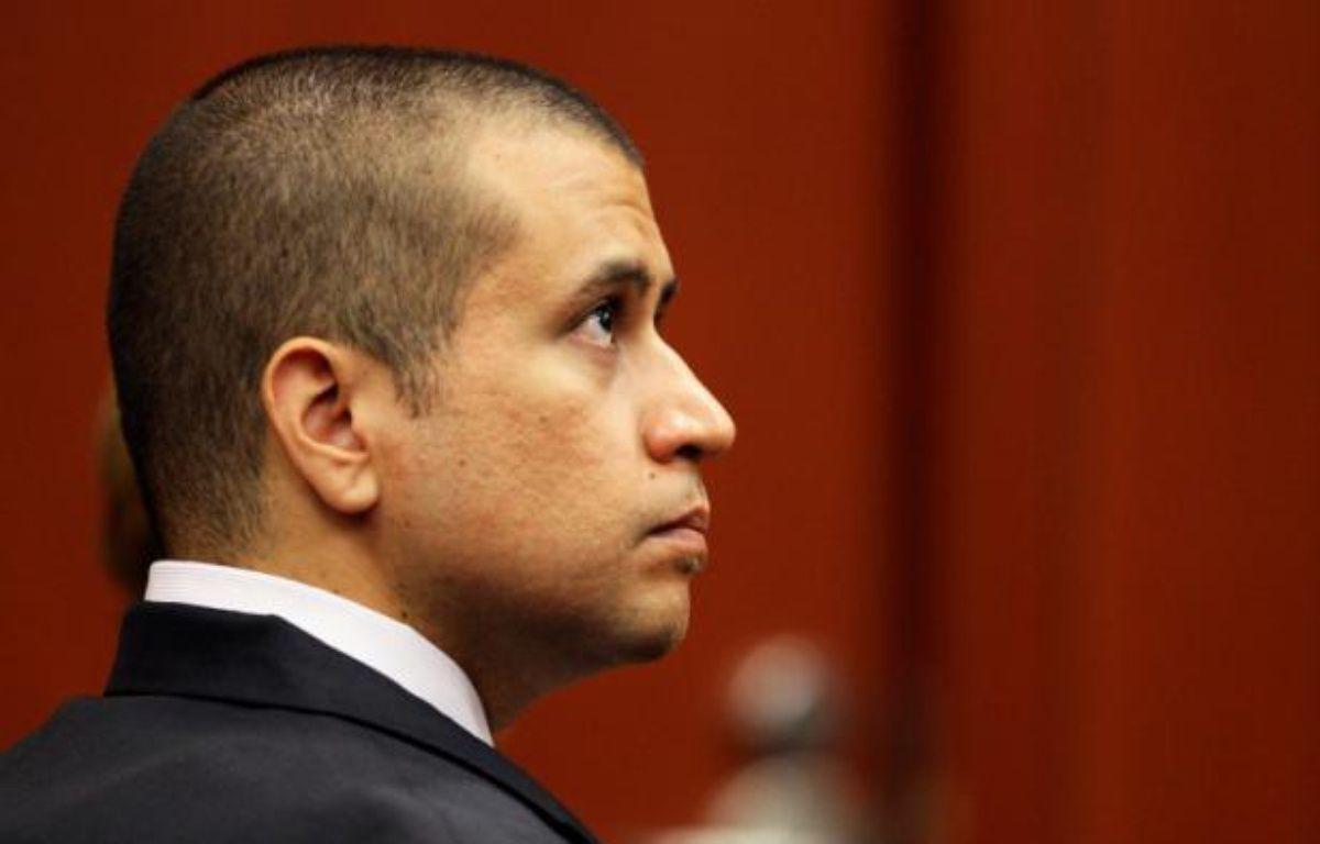 George Zimmerman, accusé du meurtre de Trayvon Martin, lors d'une audience devant un juge de Floride, le 20 avril 2012. – POOL/REUTERS