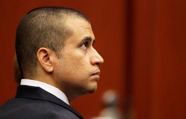 George Zimmerman, accusé du meurtre de Trayvon Martin, lors d'une audience devant un juge de Floride, le 20 avril 2012.
